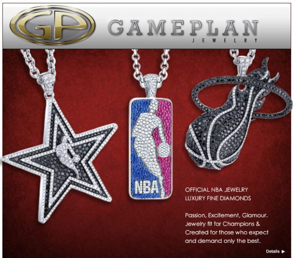 Gameplan NBA Jewelry