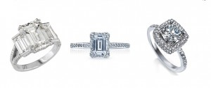 Unique diamond cuts on engagement rings at jrdunn.com